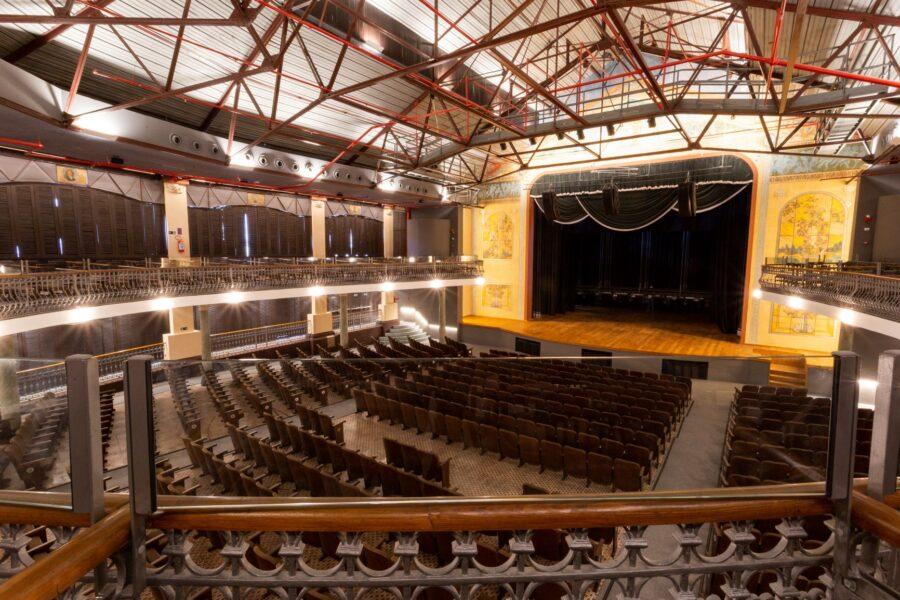 Teatro do Parque após a conclusão de sua reforma e ampliação.