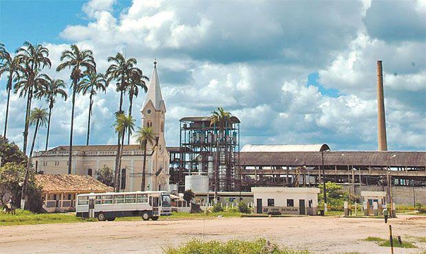 Antiga Usina Estreliana, em Ribeirão, Pernambuco.