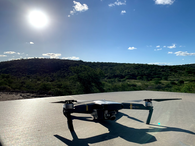 Equipamento utilizado: Drone DJI Mavic Pro.