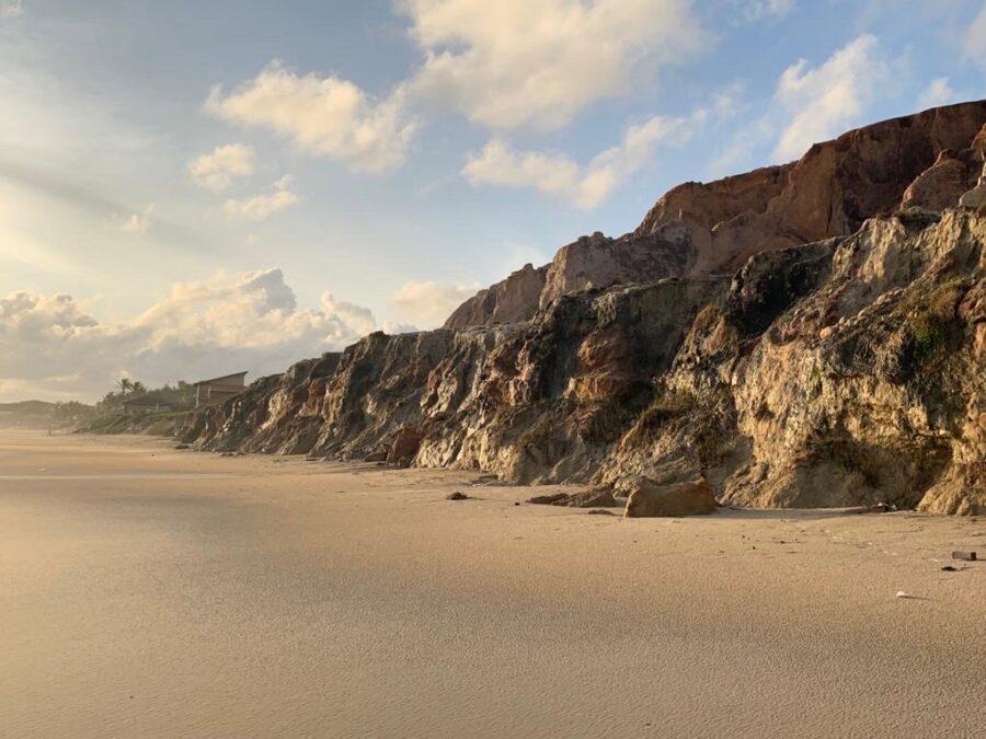 Imagem da área costeira do estado do Ceará